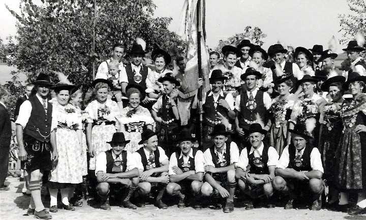 30jähriges Gründungsfest am 30. Juli 1950