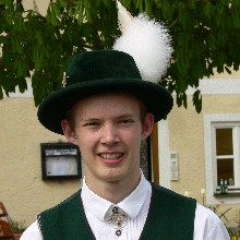 Jugendleiter Stefan Wimmer